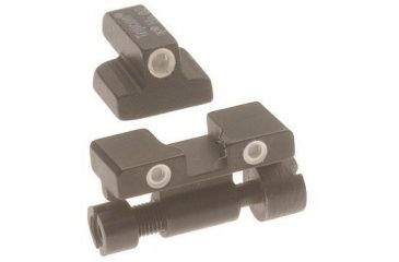 Trijicon SA02 S&W .45 or 10mm, Adjustable 3 Dot Front & Rear Night Sight Set - Special Order