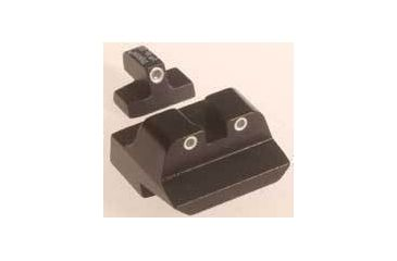 Trijicon SA14 S&W 10mm 3 Dot Front & Long Rear Night Sight Set - Special Order