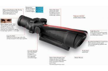 Trijicon ACOG Day-Night Gun Sight Info