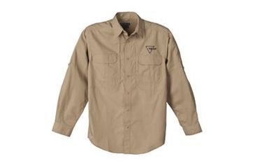 Trijicon Tactical Long Sleeve Shirt - XL, Khaki AP31XL