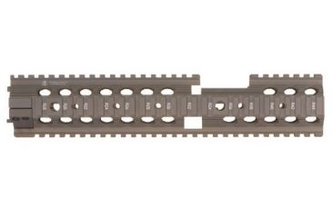 Troy 12 in. Carbine Extended Modular Rail Forend for Carbine with fixed front sight - Flat Dark Earth