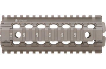 Troy 7 in. Modular Rail Forend Drop in for M4/M16/AR15 Carbines - Flat Dark Earth