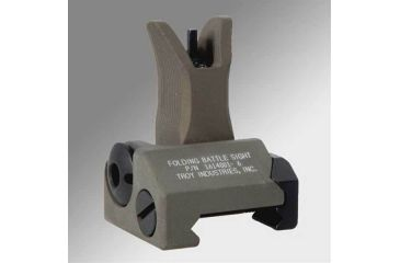 Troy Folding Battle Sight Front with M4 sight and post - Flat Dark Earth