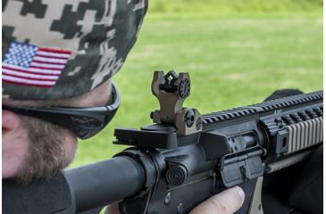 11-Troy Folding Battle Sight - Rear