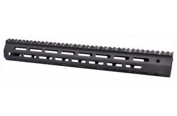 1-Troy Industries SRAIML115BT0 Battle Rail AR-15 Aluminum Black