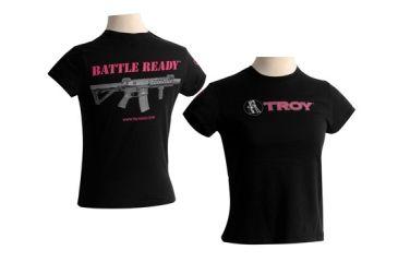 Troy Women's SS Tee - Black (S) STSH-TIS-WSBT-00