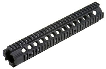 Troy 12 in. Modular Rail Forend for rifle length gas systems - Black