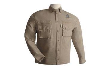 Troy TAG Safari Shirt - LS - Khaki