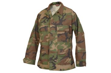 Tru Spec 1822002 Woodland Cottonpoly Twill Bdu Jacket Extra Small