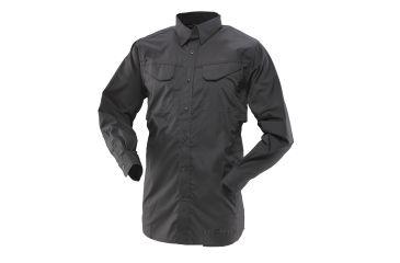 Tru-Spec 24-7 Ultralight Field Shirt, Extra Small, Regular Length, Black 1101002