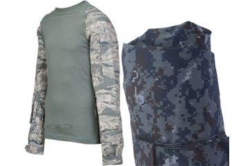 Tru-Spec Combat Tru Shirt Midnight Digital 65/35 P/C Rip Stop, Xsr 2563002