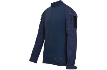 Tru-Spec Combat Tru Shirt Navy P/C Rip Stop, Xsr 2555002