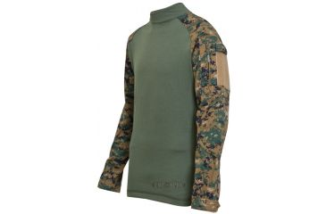 Tru-Spec Combat Tru Shirt W/P Digital P/C Rip Stop, Xsr 2559002