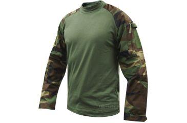 Tru-Spec Combat Tru Shirt W/P Nyco Rip Stop, Xsr 2560002