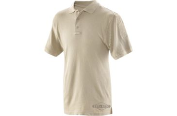 Tru-Spec Men's Short Sleeve Classic Polo, Silver Tan, Extra Small 4414002