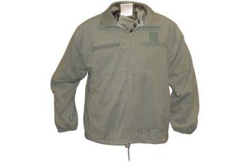 Tru-Spec Microfleece Jacket, TRU FOLIAGE,Small Reg. 2530003