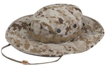 Tru-Spec Military Boonie, TRU DESERT DIGITAL W/ WIDE BRIM & LOOP, 7-1/2 3230005