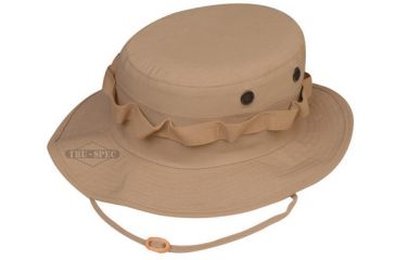 Tru-Spec Military Boonie, TRU Khaki R/S WITH LOOPS, 7-1/4 3206004