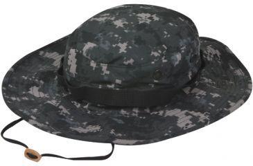 Tru-Spec Military Boonie, TRU URBAN DIGITAL W/ WIDE BRIM & LOOPS, 7-3/4 3228006