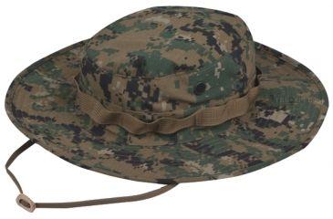 Tru-Spec Military Boonie, TRU W/P DIGITAL W/WIDE BRIM & LOOPS, 7 3227003