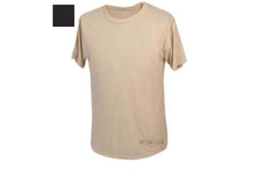 Tru-Spec T-Shirt, Black Short Sleeve, L 4370005