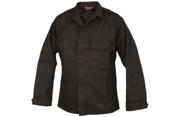 Tru-Spec Tactical Shirt, TRU Black C/P, Large Long 1417025