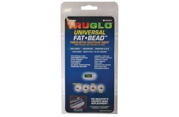 TruGlo Fat Bead Shotgun Sight Universal Green TG948UG