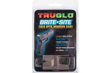 TruGlo Fiber Optic Hand Gun Sights Red Front-Green Rear-Glock 1719-TG131G1