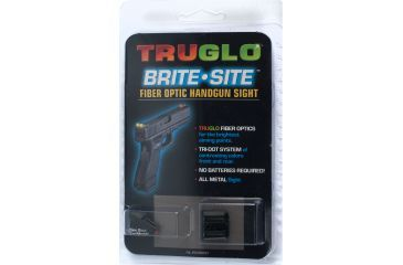 TruGlo Fiber Optic Hand Gun Sights TG131X