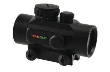 TruGlo Red Dot Sight Non-Enhanced 1x30mm 5 MOA Reticle Matte Black