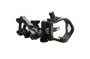 Truglo Rival Hunter 3 Light DDP Archery Sight, Black 195052