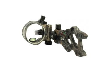 Truglo Rival Hunter 5 Light DDP Archery Sight, Xtra Camo 195056