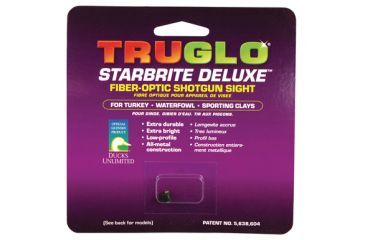 TruGlo Star Brite Deluxe Shotgun Sight 2.6mm Red TG954DR