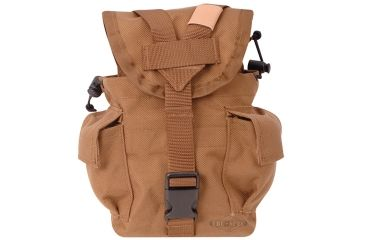 5Star 1Qt Cant/Util Pouch, coyote MOLLE 6581000