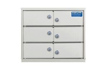 Tufloc Modubox Locker 6 Compartment 1 - 73-850-6
