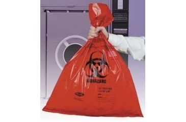 Tufpak Autoclavable Biohazard Bags, Double Thick 14220-088