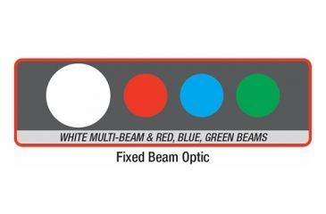 Coast TX10 Quad Color 74 Lumens LED Flashlight, Black - Clam Pack TT77364CP