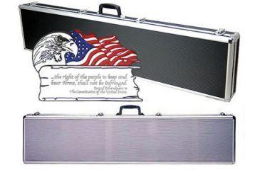 TZ Case Second Amendment Single Promo Rifle Shotgun Case 53x10x4.25 TZSR53SS2