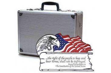 TZ Case Second Amendment Double Duty Pistol Case 18x13x7