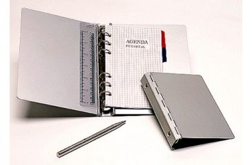 TZ Case ANC156 Medium Aluminum Binder - Silver ANC-156S