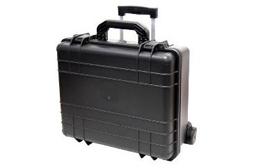 TZ Case WCB18 7 Bottle Wheeled Wine Transport Case - Black WCB-018B