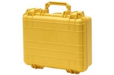 TZ Case Cape Buffalo Molded Utility Case, 12x9x4.5, Waterproof, Yellow CB012Y