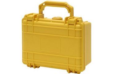 TZ Case Cape Buffalo Waterproof Molded Utility Case, 7.5x5x3.5, Yellow CB007Y