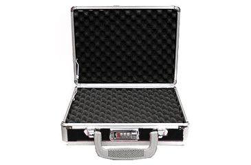 TZ Case Pro-Tech Case Alumitech Gun Case 11.5x9x3.25, Black TZ0011BS