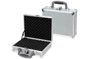 TZ Case Value-Tech ABS Panel Single Pistol Case 11.5x9x3.25, Silver VT0011SD
