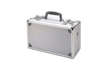 TZ Cases Pro Tech Series Duelly Fifteen Pistol Case, 15x9x7, Silver, TZ0015SS