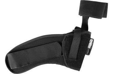 Uncle Mike's Ankle Holster - Black Kodra 3.25-3.75in bbl Med/Large Autos, Right Hand 8816-1