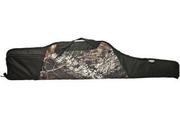Uncle Mike's Deluxe Hunter 46in. Rifle Case MOBU/Black 41546