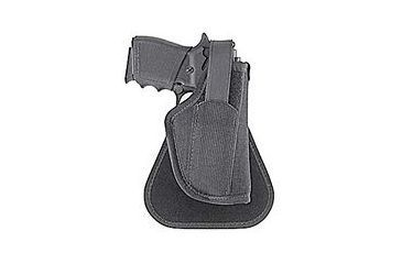 Uncle Mike's Kodra Paddle Holster, Black, Right Hand - 2in bbl Small 5-shot Revolvers 7836-1