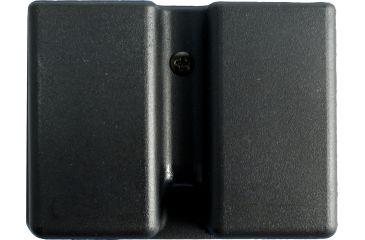 Uncle Mike's Kydex Double Magazine Case Black 5136-1